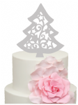 Filigree large tree Acrylic Cake Topper